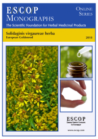 ESCOP monographs The Scientific Foundation for Herbal Medicinal Products. Online series. Solidaginis virgaurae herba (European Goldenrod). Exeter: ESCOP; 2018.