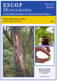 ESCOP monographs The Scientific Foundation for Herbal Medicinal Products. Online series. Pruni africanae cortex (Pygeum africanum bark). Exeter: ESCOP; 2020.